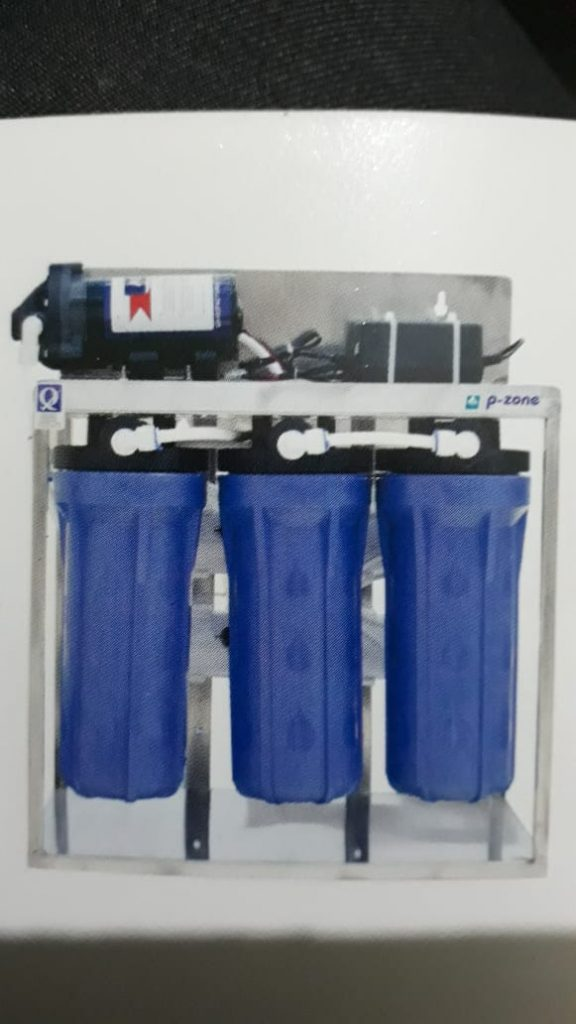 R O System cap.25 LPH