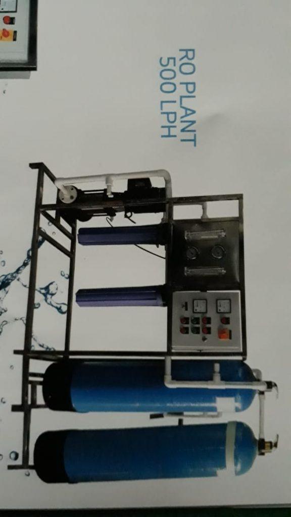 R O System cap.500 LPH